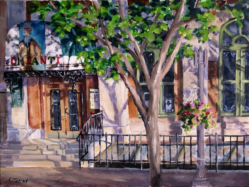 Elaine Tweedy - Post Office on Whyte Avenue (SOLD)