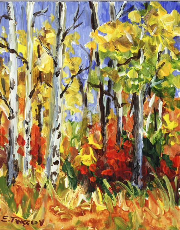 Elaine Tweedy - October Woods (SOLD)