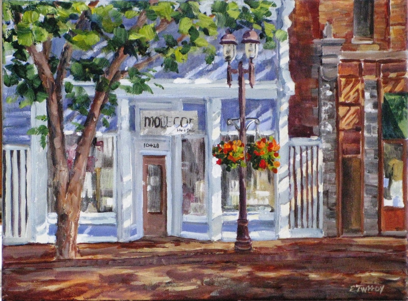 Elaine Tweedy - Whyte Avenue Shop (SOLD)