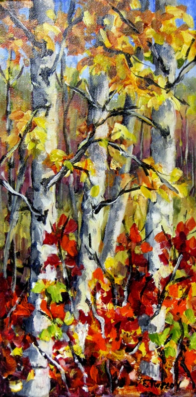 Elaine Tweedy - Autumn Fire (SOLD)