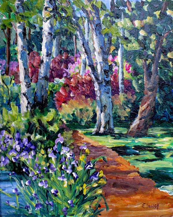 Elaine Tweedy - Forest Path (SOLD)
