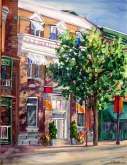 Elaine Tweedy - Whyte Avenue Morning (SOLD)