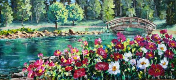 Elaine Tweedy - Spring in the Kurimoto Japanese Garden