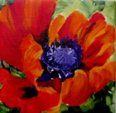 Elaine Tweedy - Happy Red Poppy X (SOLD)