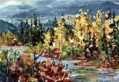 Elaine Tweedy - Autumn Storm (SOLD)