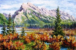 Elaine Tweedy - Vermilion Lakes & Mt. Rundle (SOLD)