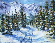Elaine Tweedy - Mid Winter Trail