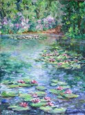 Elaine Tweedy - Water Lily Pond   (SOLD)
