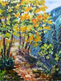 Elaine Tweedy - High Ridge Trail, Kananaskis (SOLD)