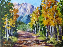 Elaine Tweedy - Kananaskis Gold (SOLD)