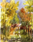 Elaine Tweedy - September Path (SOLD)