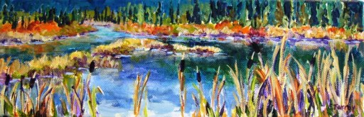 Elaine Tweedy - Reflections (SOLD)