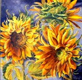 Elaine Tweedy - Vincent's Sunflowers