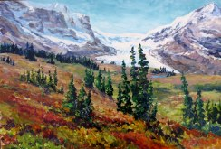Elaine Tweedy - Fire and Ice, Columbia Icefield (SOLD)