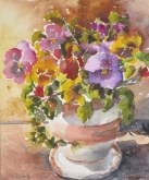 Elaine Tweedy - Pansy Pot (SOLD)