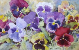Elaine Tweedy - Pansy Choir (SOLD)