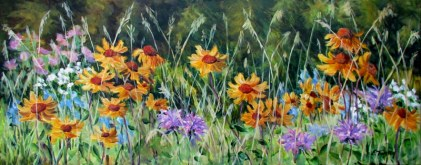 Elaine Tweedy - Brown Eyed Susans (SOLD)
