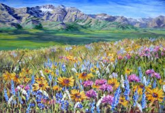 Elaine Tweedy - Rockies Meet Prairie (SOLD)