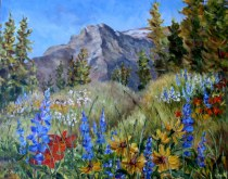 Elaine Tweedy - Mountain Wildflowers - Waterton National Park, AB
