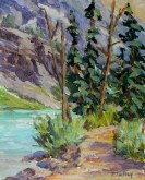 Elaine Tweedy - Along the Lake (SOLD)