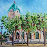 Elaine Tweedy - Old Strathcona Post Office, Edmonton (SOLD)