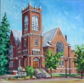 Elaine Tweedy - Knox Church, Edmonton (SOLD)