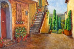 Elaine Tweedy - Afternoon In Pienza