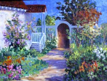 Elaine Tweedy - In the Garden (SOLD)