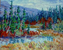 Elaine Tweedy - A Touch of Autumn (SOLD)