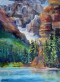 Elaine Tweedy - Lake Louise Shoreline Trail (SOLD)