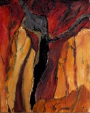 Elaine Tweedy - Further into the Crevice (SOLD)