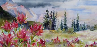 Elaine Tweedy - Paintbrush and High Meadow