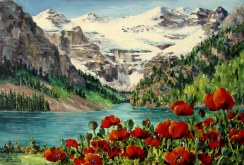 Elaine Tweedy - Lake Louise, Banff National Park (SOLD)